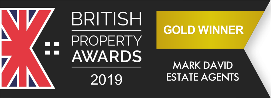 Gold for Mark David Estate Agents